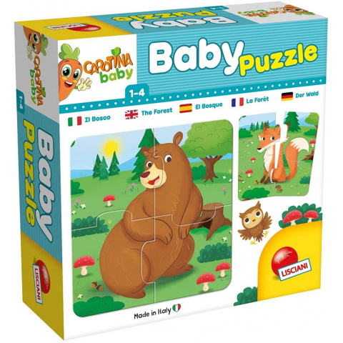 CAROTINA BABY PUZZLE THE FOREST 0076