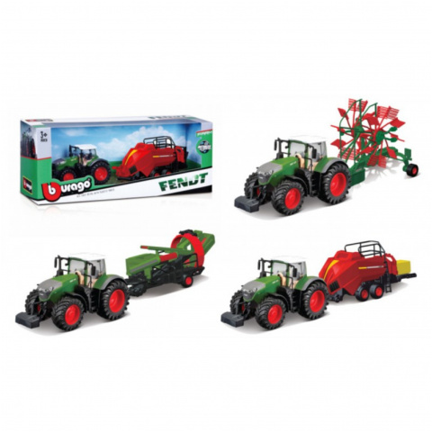 FARM TRACTOR WITH NEW ACCESS 7509