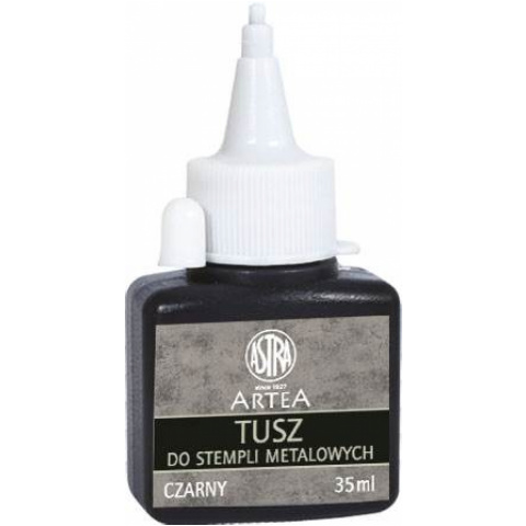 TUSZ DO STEMPLI METAL.CZARNY 35 ML. 81030914 A'8